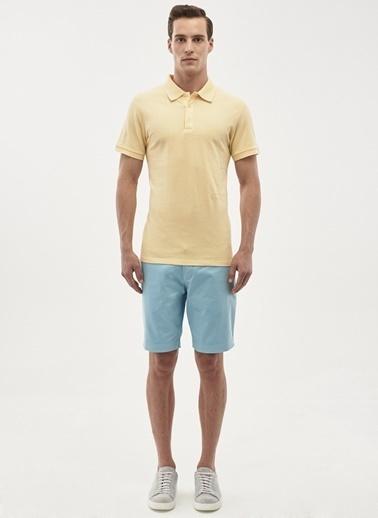Altınyıldız Classics Polo Yaka Tişört Sarı